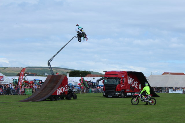 Stunt Bikes, Stranraer Agricultural Show