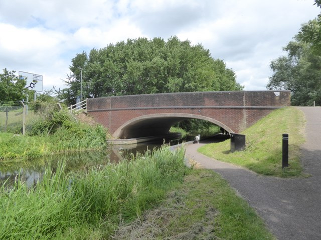 Venture Way bridge over Bridgwater and Taunton Canal
