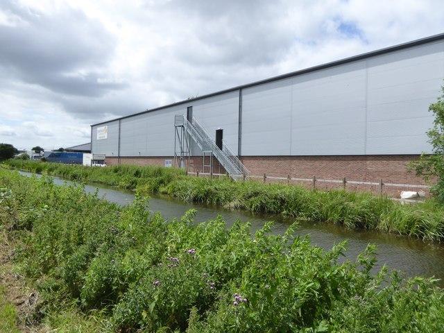 Amphenol industrial building