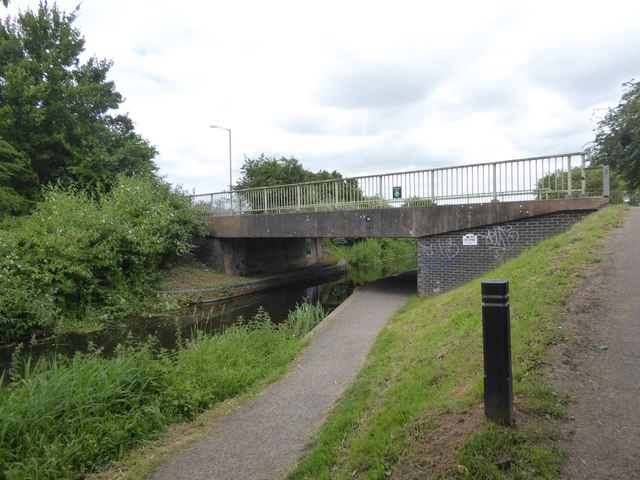Western Venture Way bridge over Bridgwater and Taunton Canal