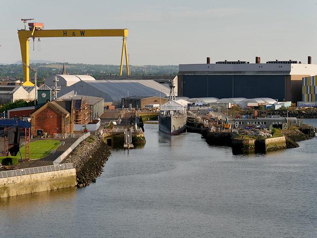 Belfast Harbour, Alexandra Dock