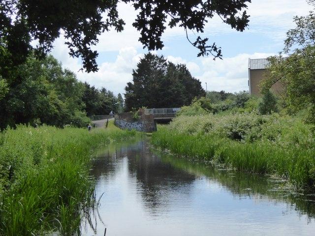 Footbridge over Bridgwater and Taunton Canal in Obridge