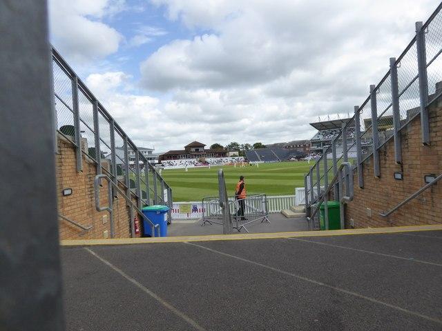 Cricket at Taunton