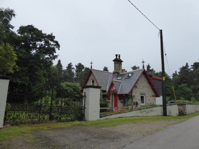 Gatehouse near Dallas Dhu Distillery