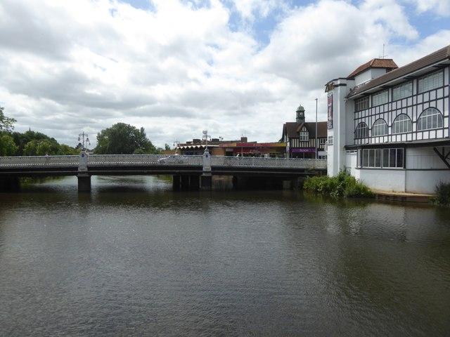 The Bridge over River Tone