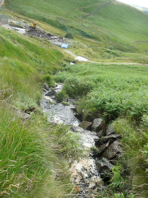 Diverted flow from Solomon Cutting, Chelburn Moor