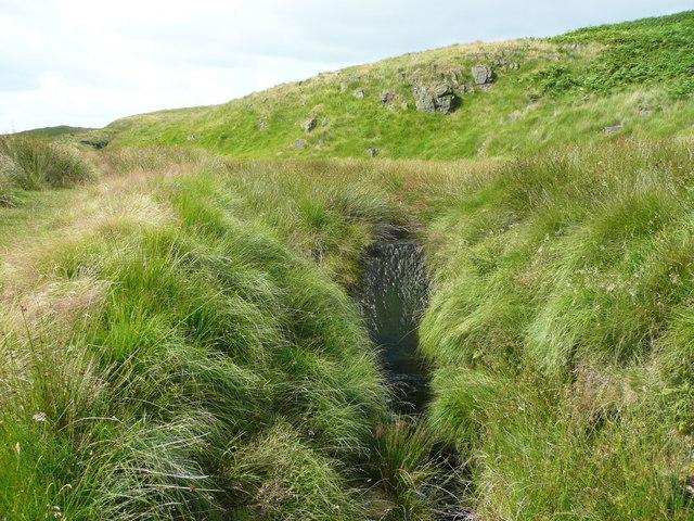 Weir on Solomon Cutting, Chelburn Moor