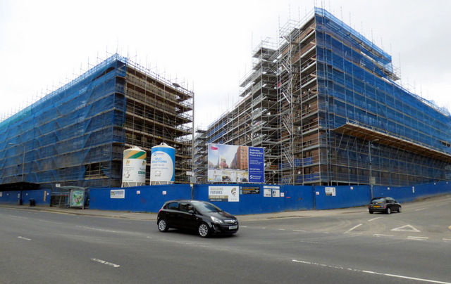 Building site on Argyle Street