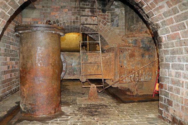 Coleham Head Pumping Station - sewage pump