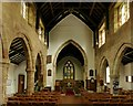 SK4341 : Church of St Wilfrid, West Hallam by Alan Murray-Rust