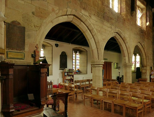 Church of St Wilfrid, West Hallam