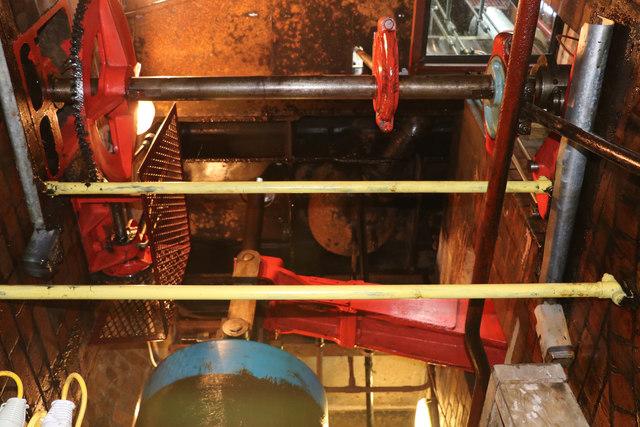 Coleham Head Pumping Station - unseen details