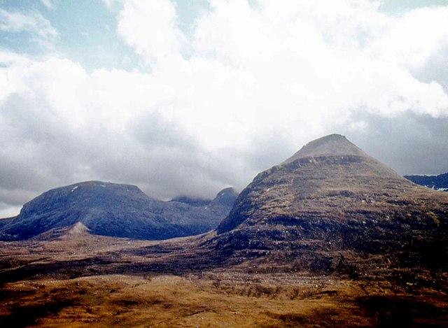 Ruadh-stac Mòr from Beinn a' Chearcaill
