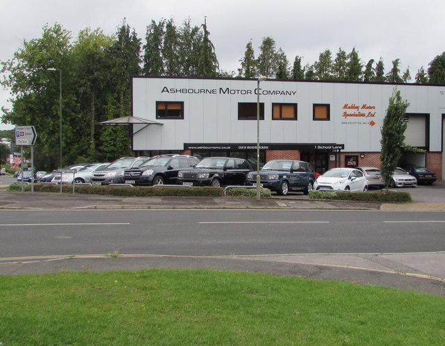 Ashbourne Motor Company, Chandler's Ford
