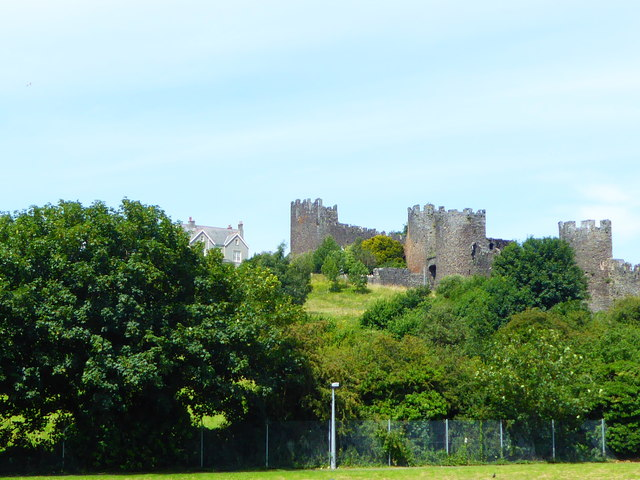 The Upper Gate and the western town walls at Conwy