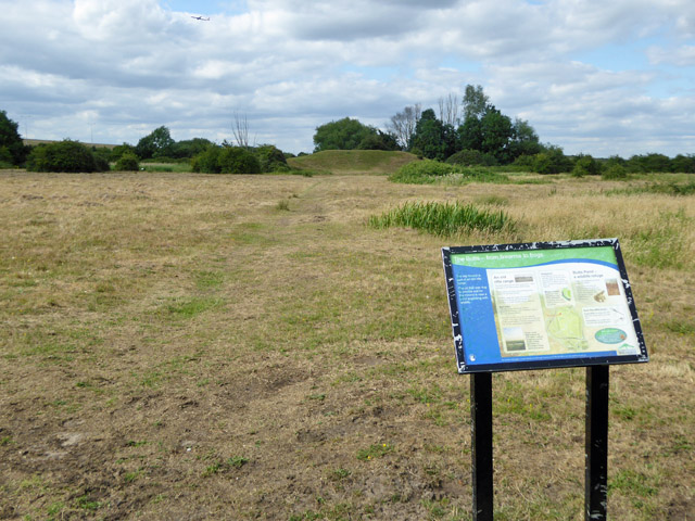 The Butts, Staines Moor