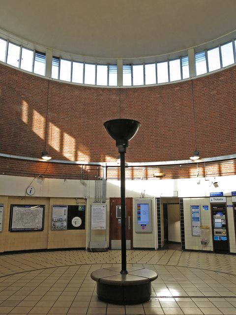 Hanger Lane  tube station - ticket hall