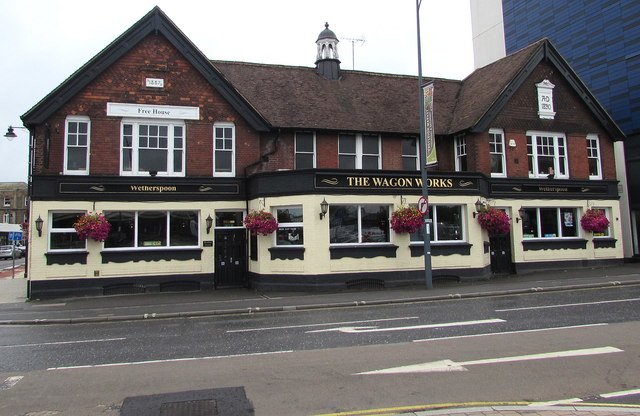 Two years on the Wagon Works pub, Eastleigh