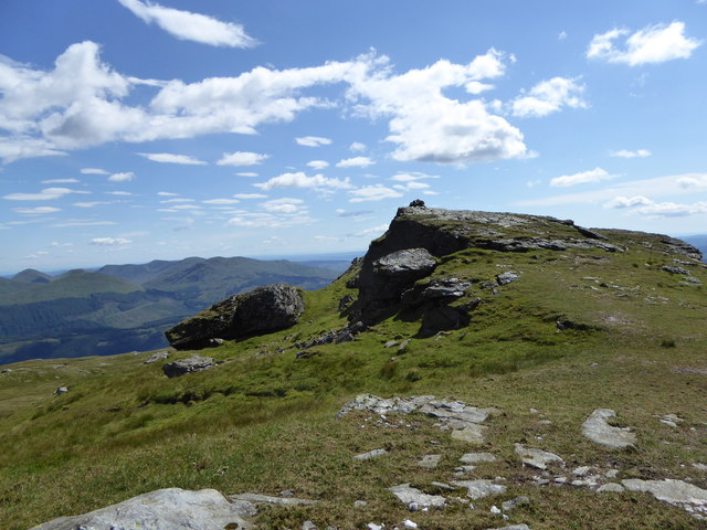 Summit of Cnoc Coinnich ('mossy knoll')