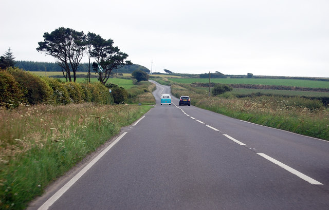 Straight stretch on the A39