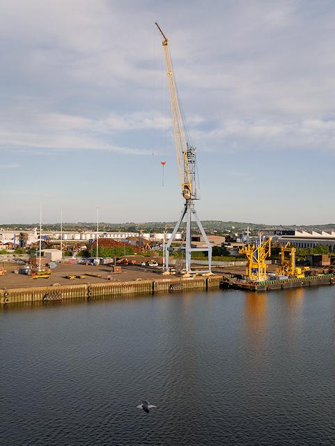 Tower Crane at Belfast Ship Repair Quay