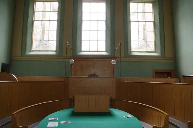 The Court Room - Presteigne Shire Hall