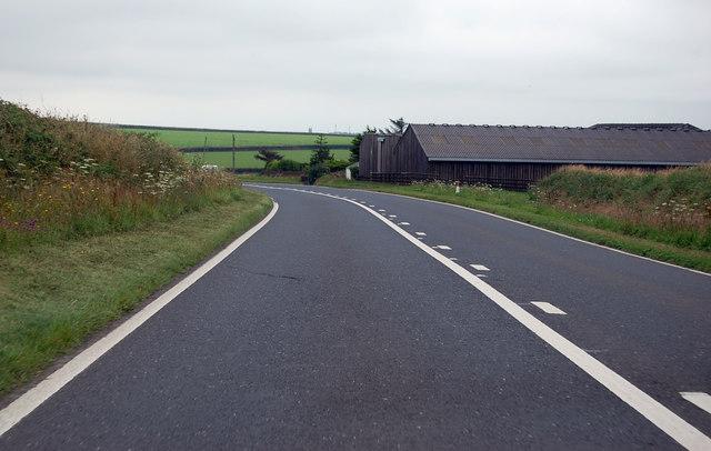 A39 passing Highborough Farm