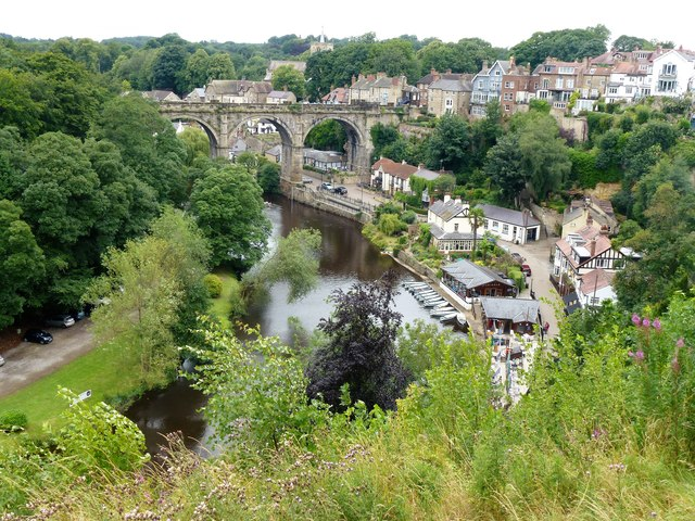 Boats for hire in Knaresborough