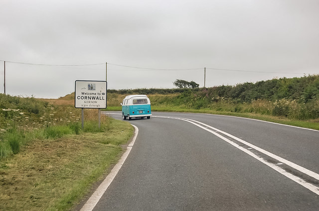 A39 Welcome to Cornwall