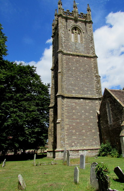 Tower of the Church of St James the Great, Westerleigh