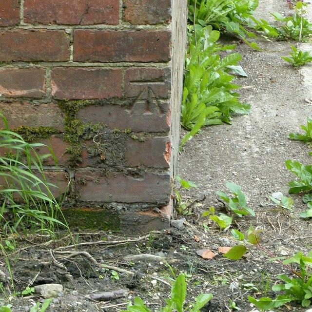 Bench mark, Mapperley Park