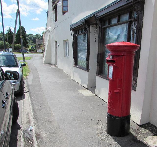 Queen Elizabeth II pillarbox in Westerleigh