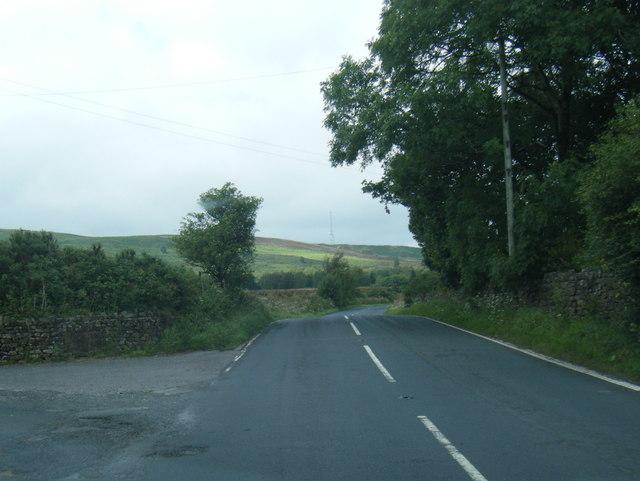 B6478 Slaidburn Road