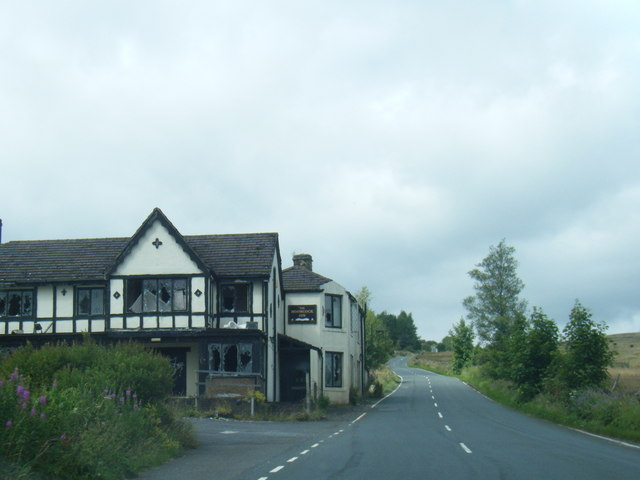 The Moorcock Inn from Slaidburn Road
