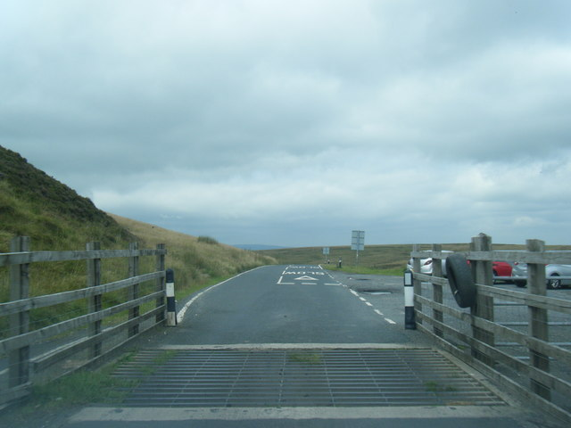 B6478 at Slaidburn Road summit cattle grid