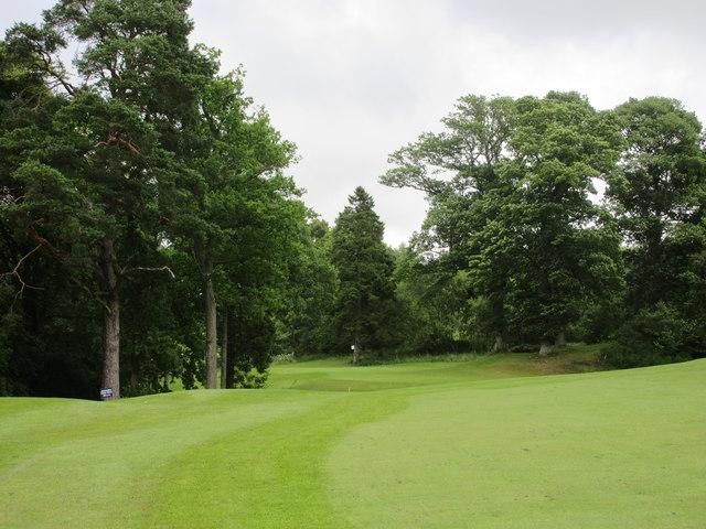 Lynedoch, 2nd hole, Burnside