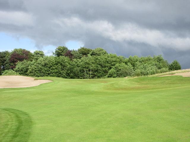 Lynedoch, 9th hole, Scoonie Burn