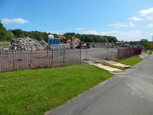 Site of demolished Aitkenbar Primary School