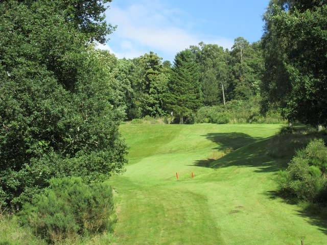Lynedoch, 13th hole, Brae
