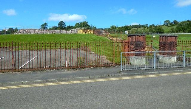 Site of demolished Aitkenbar Primary School