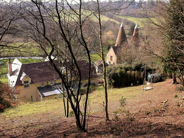 Forge Farmhouse and the Eridge Stream valley