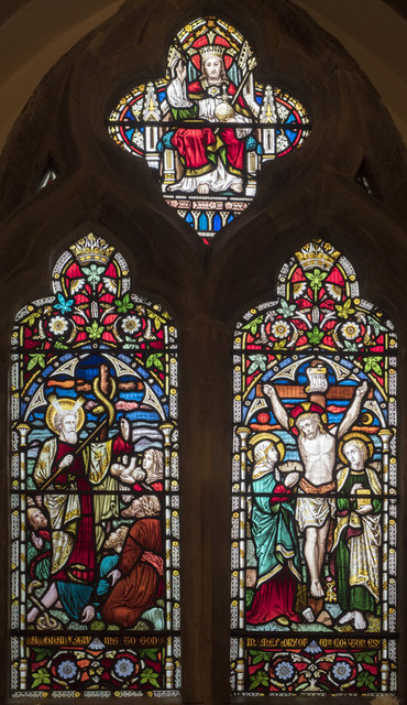 St Laurence, Telscombe - Stained glass window