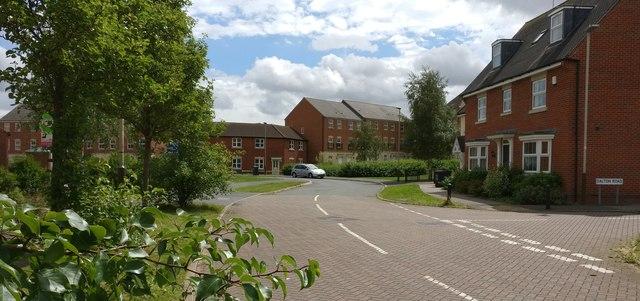 Dalton Road in Hamilton, Leicester
