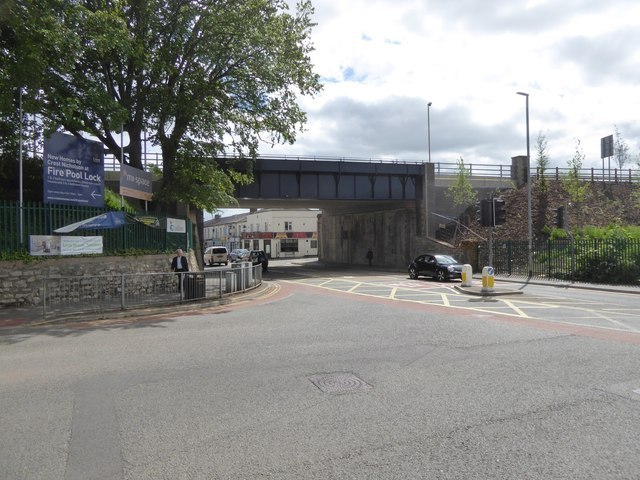Railway bridge over Station Road, Taunton