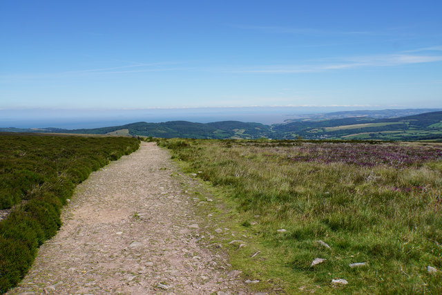 Path on Dunkery Hill