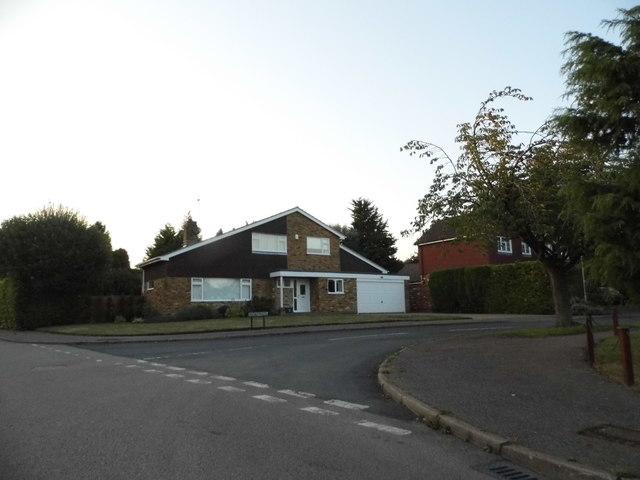 Modern style house on Burywick, Hatching Green
