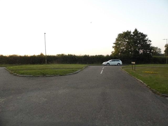 Oakhurst Avenue at the junction of Redbourn Lane