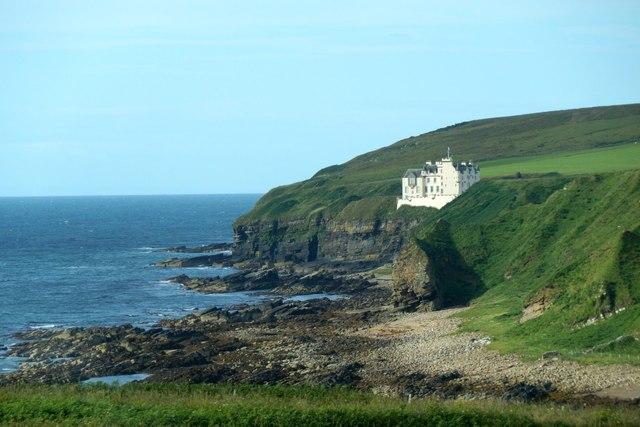 Dunbeath Castle from Dunbeath