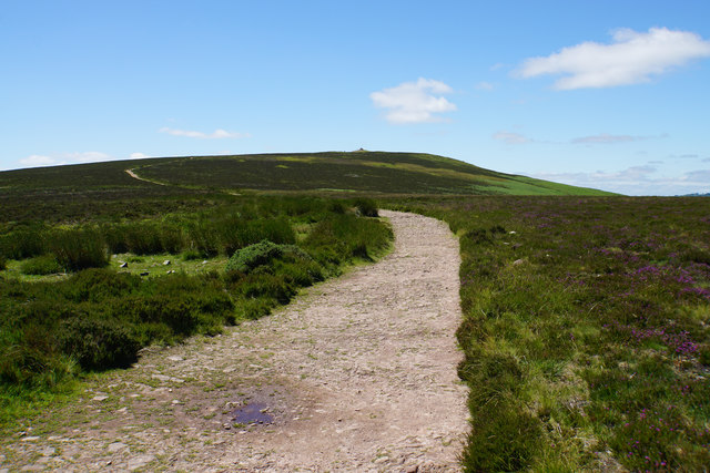 Path to Dunkery Beacon