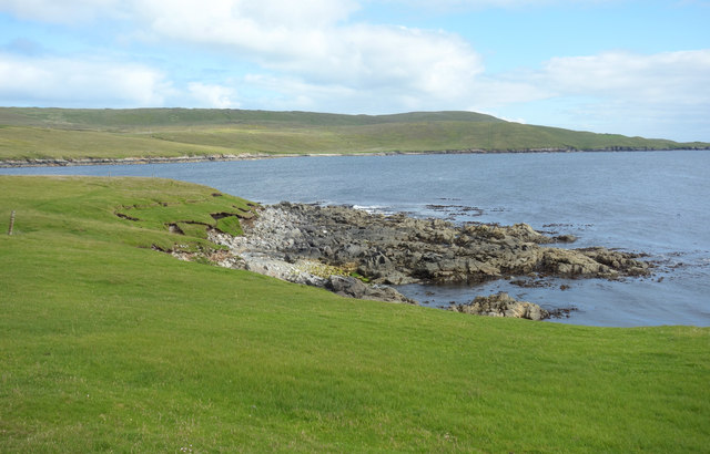 Ness of West Sandwick, southern point